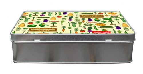 Selina-Jayne Garden Vegatables Limited Edition Designer Treat Tin